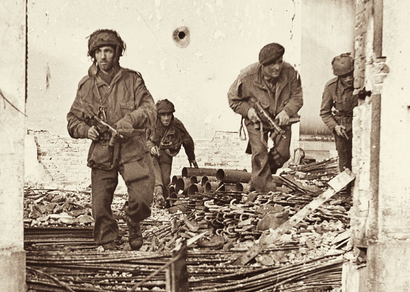 Men from C Company, 156 Parachute Battalion, Arnhem 1944